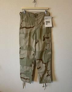 デッドストック USミリタリー 3C デザートカモ S-R アメリカ軍 USA製 米軍 米軍実物 アメリカ古着 古着男子 古着女子