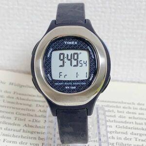 ★ TIMEX デジタル 多機能 腕時計 ★ タイメックス アラーム クロノ タイマー シルバー 稼動品 F5202