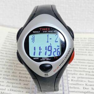 ★ TIMEX デジタル 多機能 メンズ 腕時計 ★ タイメックス アラーム クロノ タイマー シルバー 稼動品 F5240