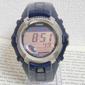 ★CASIO G-SHOCK デジタル 多機能 メンズ 腕時計 ★ カシオ G-ショック G-3011 アラーム クロノ タイマー ネイビー 稼動品 F5362