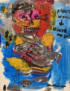 110万落札記録、世界的なロンドンプライベート美術館サーチギャラリー 英国国立美術館収蔵作家、田中拓馬 真作保証 正規販売 油彩6号