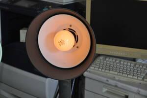 電気スタンド(オーム電機)明るさ調節機能付き