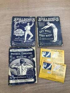 スポルディングス 20's 10's ブック SPALDINGS アンティーク ビンテージ アメリカ製 made in usa