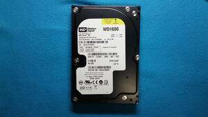 IDE type used HDD WD made capacity 160GB 3.5 -inch file. receipt * sending * deletion etc. is normal operation