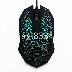 DM019:3000 DPI Led 光学式有線マウスプロのコンピュータのマウスゲーマーマウス Pc のノートパソコン用