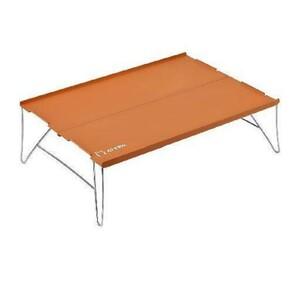 〇キャンプもオシャレ〇アウトドア テーブル コンパクト 折り畳み アルミテーブル 車中泊 グランピング 軽量 持ち運びに便利
