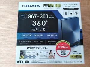 Wi-Fiルーター I-O DATA WN-AX1167GR