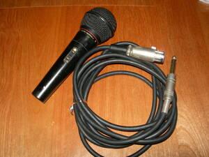 ★☆中古品【オーディオテクニカ AT-K80 単一指向性 ダイナミックマイクン 600Ω】audio-technica Dynamic Microphone☆★