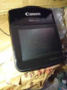 Canon iVIS mini ビデオカメラ ビデオレコーダー 本体のみ 送料無料H01