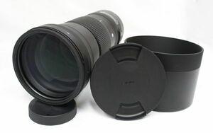 【 新品未使用品 】SIGMA シグマ 150-600㎜ F5-6.3 DG OS HSM EFマウント Contemporary キャノン用 カメラ レンズ フード付き 210824F(NT)