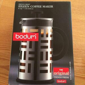 ボダム フレンチプレスコーヒーメーカー 未使用品 1リットル(8カップ)