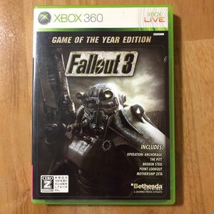 【Xbox360】 Fallout 3:Game of the Year Edition
