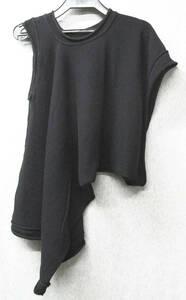 ワイズ ヨウジヤマモト:変形 ニット 2 ( セーター Y's Yohji Yamamoto Femme COTTON Knit 2