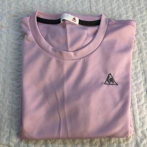 半袖Tシャツ ルコック le coq sportif ピンク ヨガウェア スポーツウェア ランニングウェア