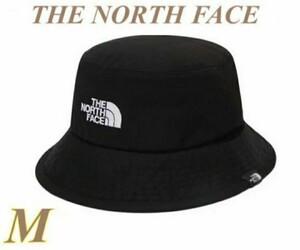 【新品タグ付】ザ・ノース・フェイス THE NORTH FACEコットンバケットハット ブラックM 帽子