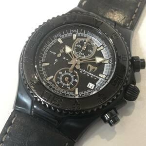 TechnoMarine テクノマリーン スポーツ TMYBK05 クロノグラフ クォーツ 腕時計 メンズ