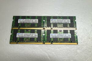 * operation verification ending * Note for DDR2 memory SAMSUNG PC2-5300S-555-12-E3 total 4GB(1GB 4 sheets set )①