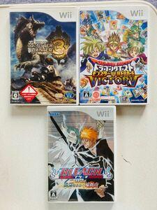 任天堂 Wiiソフト 3本セット