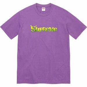 【新品未使用】 21AW 22 新作 新品 SUPREME シュプリーム SHREK TEE Tシャツ カットソー シュレック 半袖 PURPLE パープル 即決早い者勝ち
