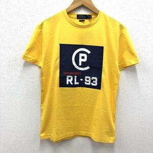 未使用 POLO RALPH LAUREN / CPRL-93 CLASSIC FIT ポロラルフローレン 復刻 / クラシックフィット Tシャツ イエロー XS