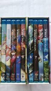 マクロスF マクロスフロンティア 全9巻セット Blu-ray 初回生産限定版 収納BOX付き 中古品 美品 送料無料
