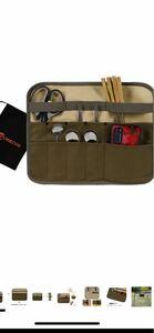 クッキングツール 食器ハンギングバッグ 調味料入れ 食器収納バッグ カトラリー収納袋 ツールロールポーチ 保管バッグ 工具袋布巻き