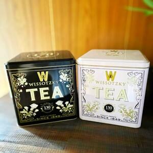 WISSOTZKY TEA フレーバーティー ギフト 130袋 2缶セット