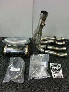 GSX-R600 GSX-R750 08-10 ツーブラザーズレーシング フルエキゾーストマフラー 新品 005-2130107V 定価¥176,000 M2カーボンサイレンサー