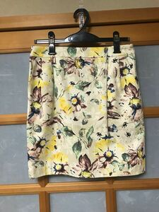 アダムエロペ 花柄ボタニカルスカート