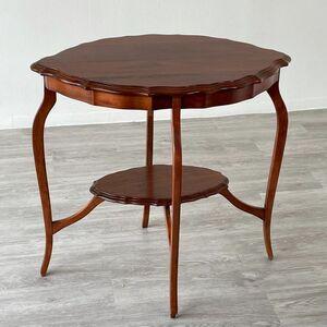 アンティーク 家具 オケージョナルテーブル 1930年頃 マホガニー イギリス 英国 家具 サイドテーブル ビンテージ家具 輸入 店舗什器 803A