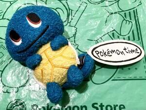 ポケットモンスター ポケモン pokemon time ゼニガメ ぬいぐるみ 未使用 ポケモンセンター ポケモンタイム 人形 マスコット