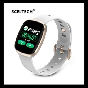 激安♪スマートウォッチ ホワイト 日本語対応 最新版 血圧計 心拍計 歩数計 防水 活動量 消費カロリー 着信 iphone&Android