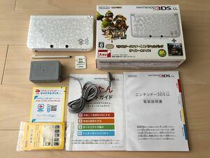 モンスターハンター4 スペシャルパック アイルーホワイト ACアダプター、メモリーカード8GB付き