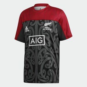 正規品 新品 Oサイズ マオリオールブラックス ラグビー半袖Tシャツ adidas