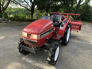 三菱 4WD 自動水平  MITSUBISHI 三菱 ディーゼル トラクター MT205 ロータリーMAC AFP1706S新潟発 売り切り