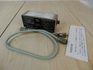 【アサヒアンテナ】 3.5-144MHz SWRパワー計 測定器 ME-ⅡE 動作未確認 中古品 JUNK! 現状渡し 一切返品不可で!