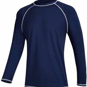Tシャツ トレーニング メンズ 長袖 レーニングウェア スポーツ フィットネス UPF50+ 吸汗