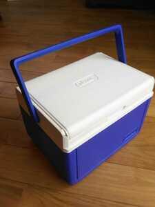 【ホームクリーニング済】コールマン クーラーボックス テイク6 MODEL.5205 ブルー