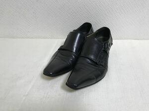 本物レノマrenoma本革レザーストレートチップビジネスシューズ靴スーツトラベルメンズ旅行黒ブラックドレス26cm