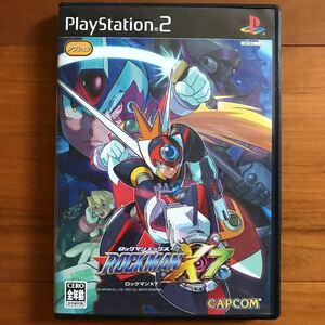 【PS2】ロックマンX7 カプコン