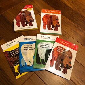 【新品】Eric Carle Brown Bear 英語絵本 4冊セット
