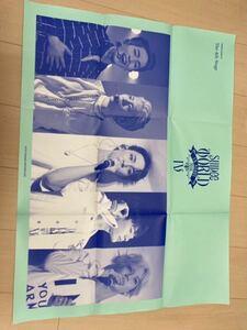SHINee ポスター The 4th Concert Album SHINee WORLD IV The 4th Stage 附属品 韓国 シャイニー ソウル コンサート 写真