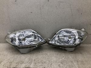 美品 磨き済み ダイハツ L950S L960S マックス 純正 ハロゲン 左 右 ヘッドライト ICHIKOH 1707 左 右 セット