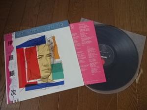 【和モノ 帯付き LPレコード】伊藤銀次 get happy ※現状渡しです