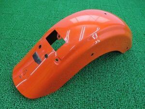中古 ハーレー 純正 バイク 部品 FLTR TC U リアフェンダー 純正 橙M 58702-09 09年 状態良好 車検 Genuine