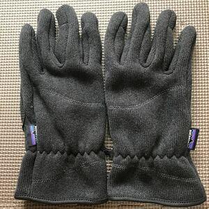 パタゴニア ベターセーター グローブ ブラックL patagonia Better Sweater Gloves Black L