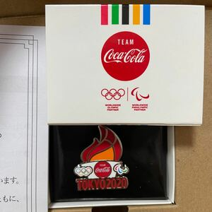 コカコーラピンバッジTokyo2020東京オリンピックピンバッチ五輪【非売品】 東京