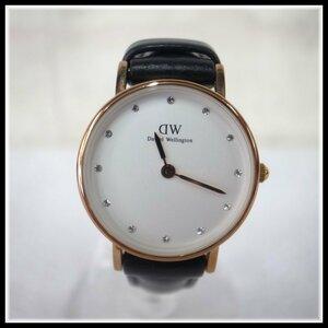 9160T DW ダニエル ウェリントン Daniel Wellington クォーツ 腕時計 ゴールド×黒