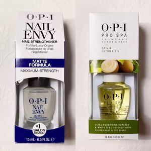 OPI ネイルエンビー マット ×1と プロスパ キューティクルオイル 14.8ml ×1 新品未使用品 両方箱無し