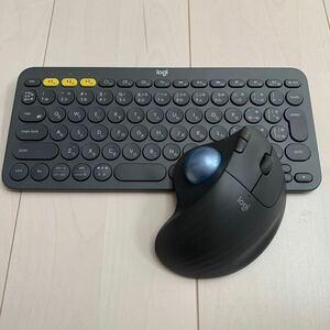 Logicool ロジクール ワイヤレスキーボード ワイヤレスマウス ERGO M575 & K380 ワイヤレストラックボール